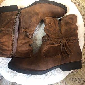 Born Shavano Ankle Boots - Excellent Condition